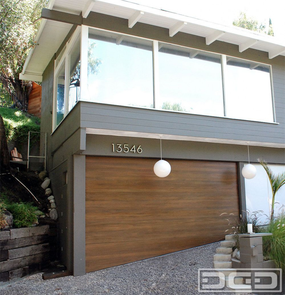 Modern Carport To Garage Conversion | Mid Century Modern ..