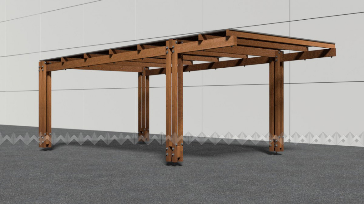 Modern Carports, Hand Made , Hight Quality Materials Wites ..