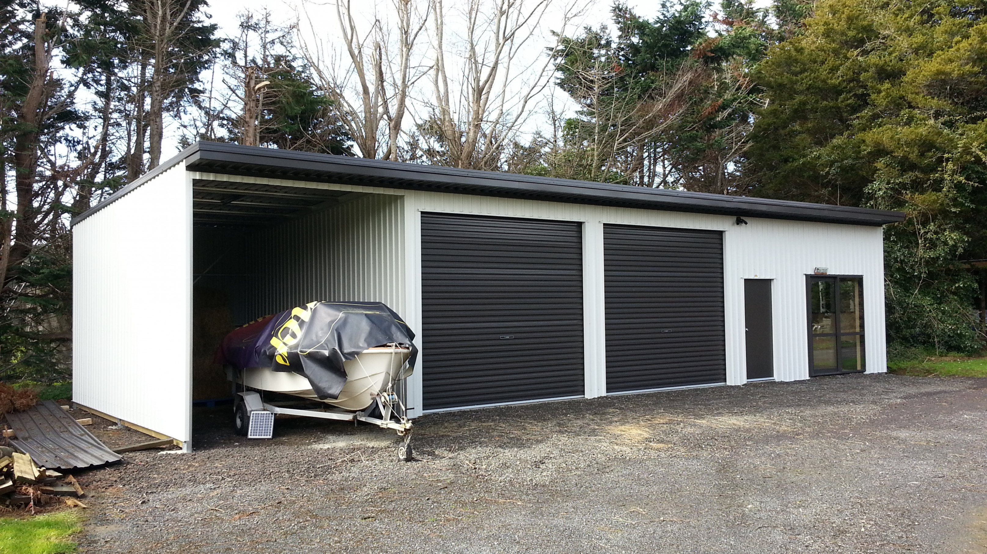 Modern Garage Nz Convert Carport To Garage Nz