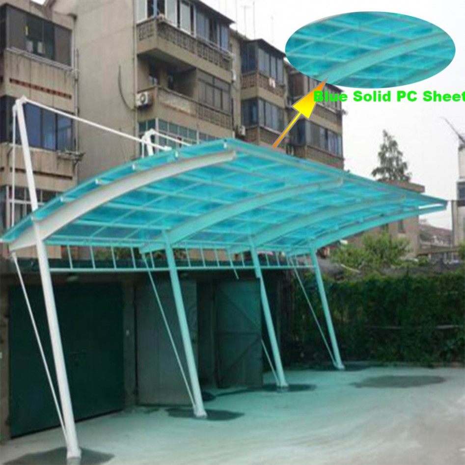 Modern Polycarbonate Roof Cantilever Carport Car Shed With Pc Covering Buy Aluminum Double Carport,Metal Roof Carport,Aluminum Carport Roofing ..