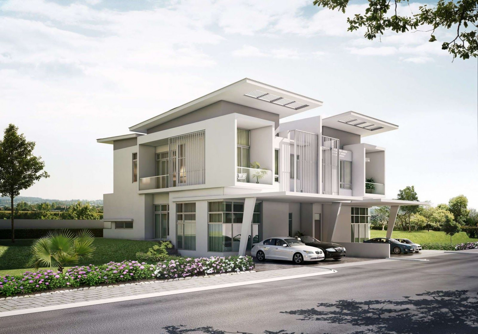 Modern Townhouse With Carport Google Search | Space Likes ..