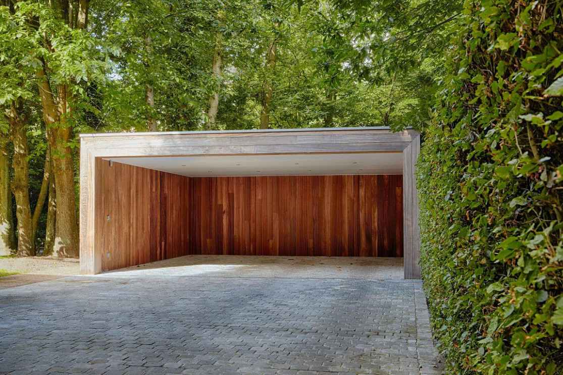 Moderne Carport In Hout | Bogarden | Carport | Pinterest ..
