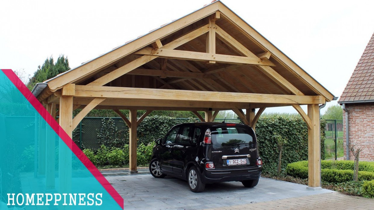 MUST WATCH !!! 11+ Rustic Carport Ideas That You May Have Never Seen Before Timber Carport Garage