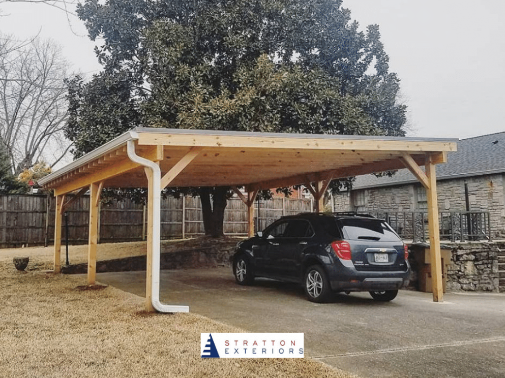 Nashville Custom Carports vs. Detached Garages - Stratton ...