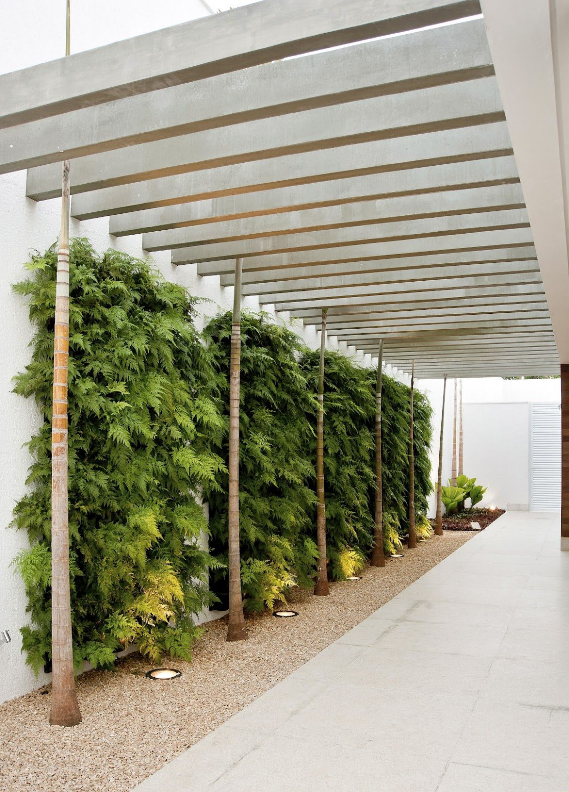 Neat Privacy Screen For A Carport (the Plants). Very Chunky ..