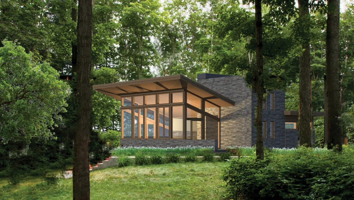 New Frank Lloyd Wright Inspired Homes Based On Usonian ..