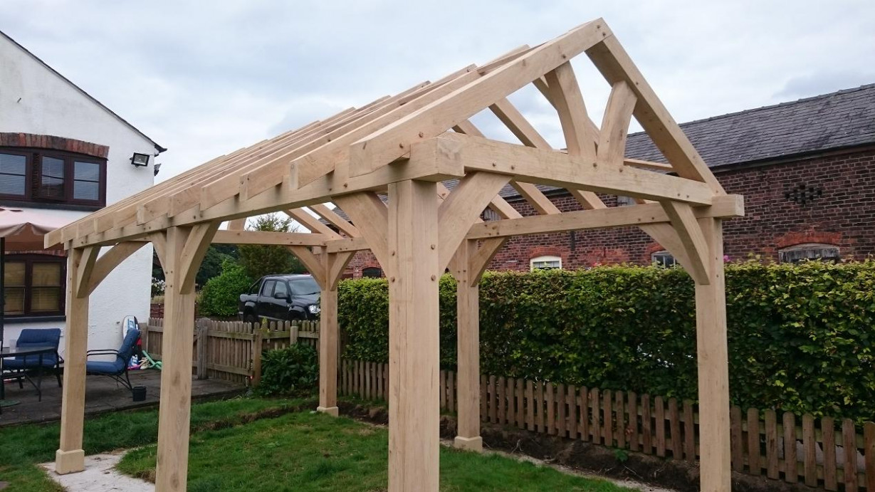 Oak Gazebo & Oak Framed Car Ports | Wooden Gazebos | Oak ..