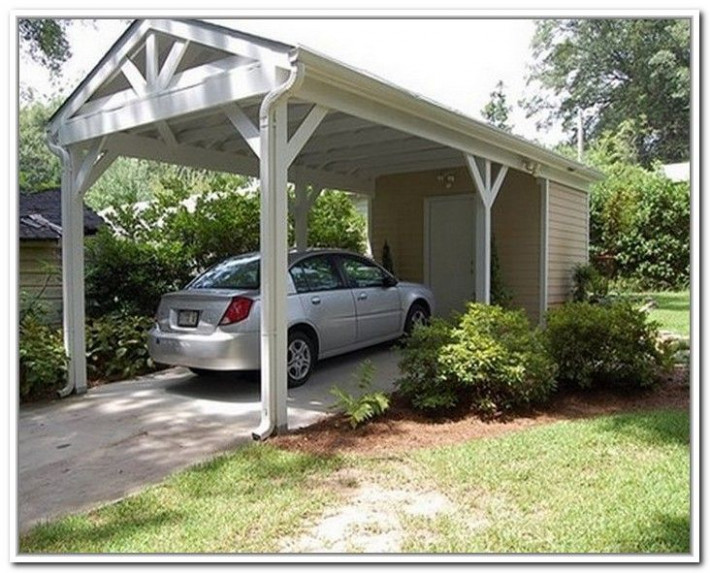 Open Carport With Storage | Carports | Carport With ..