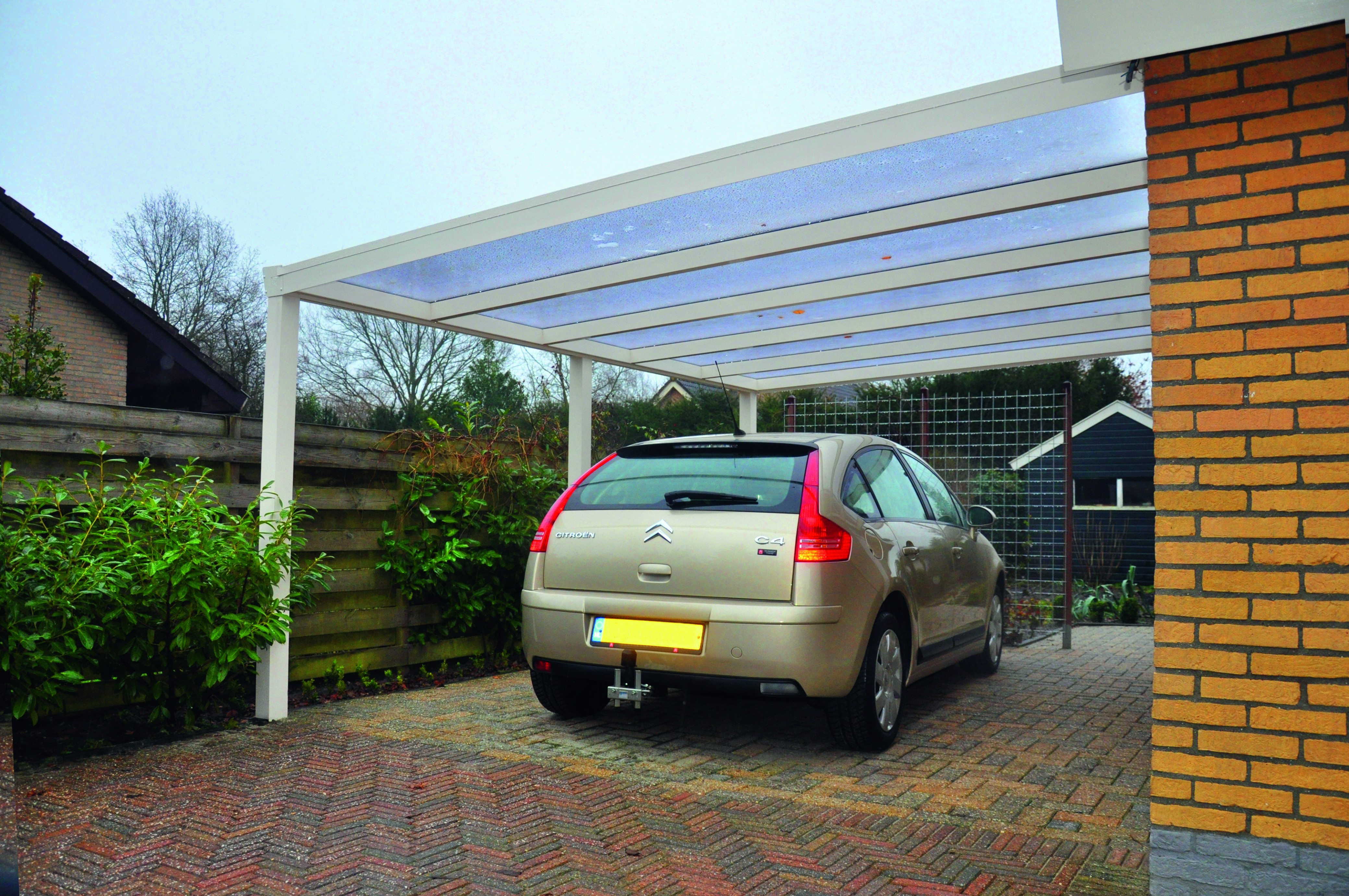 Our New Carports Products Carport Contemporary View