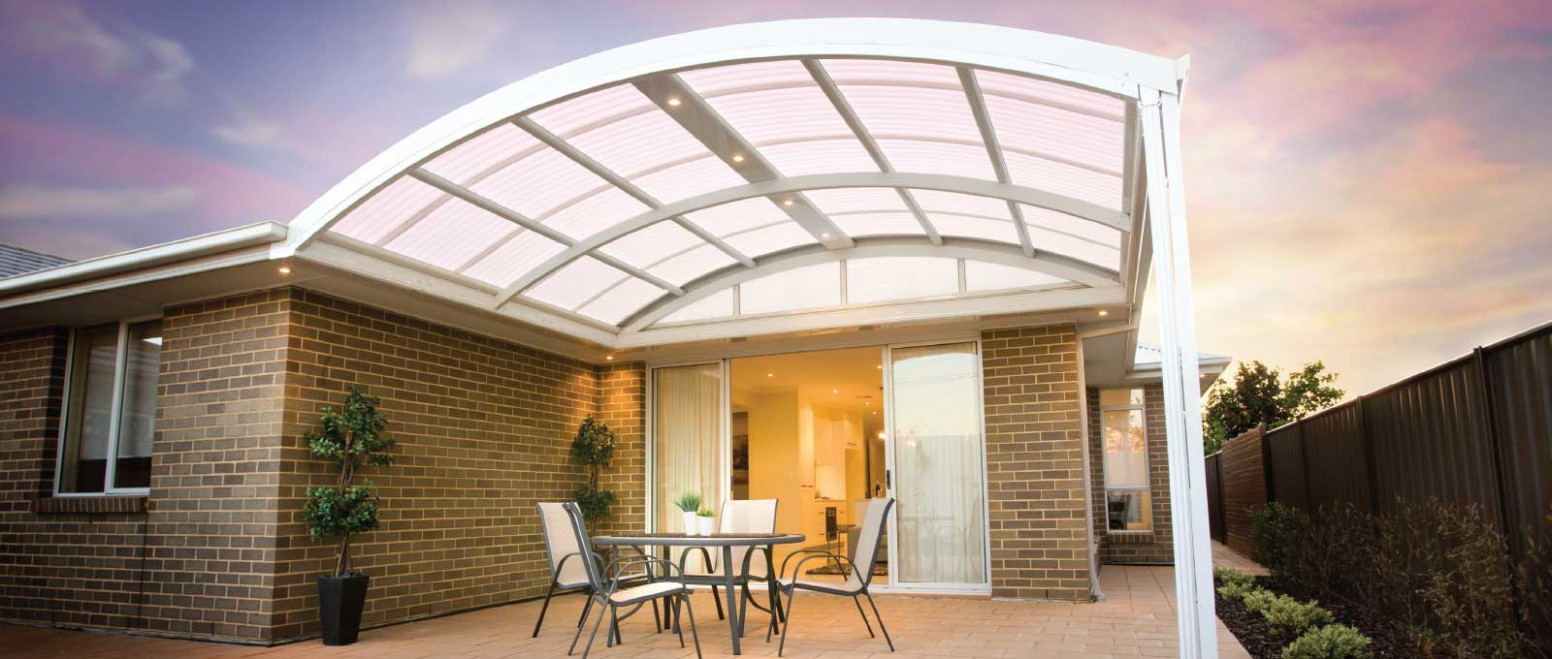 Outback® Curved | Stratco Carport Roof Design