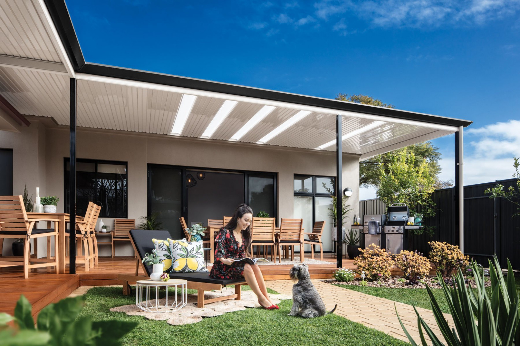 Outback® Flat | Stratco Carport Ideas Attached To House Australia