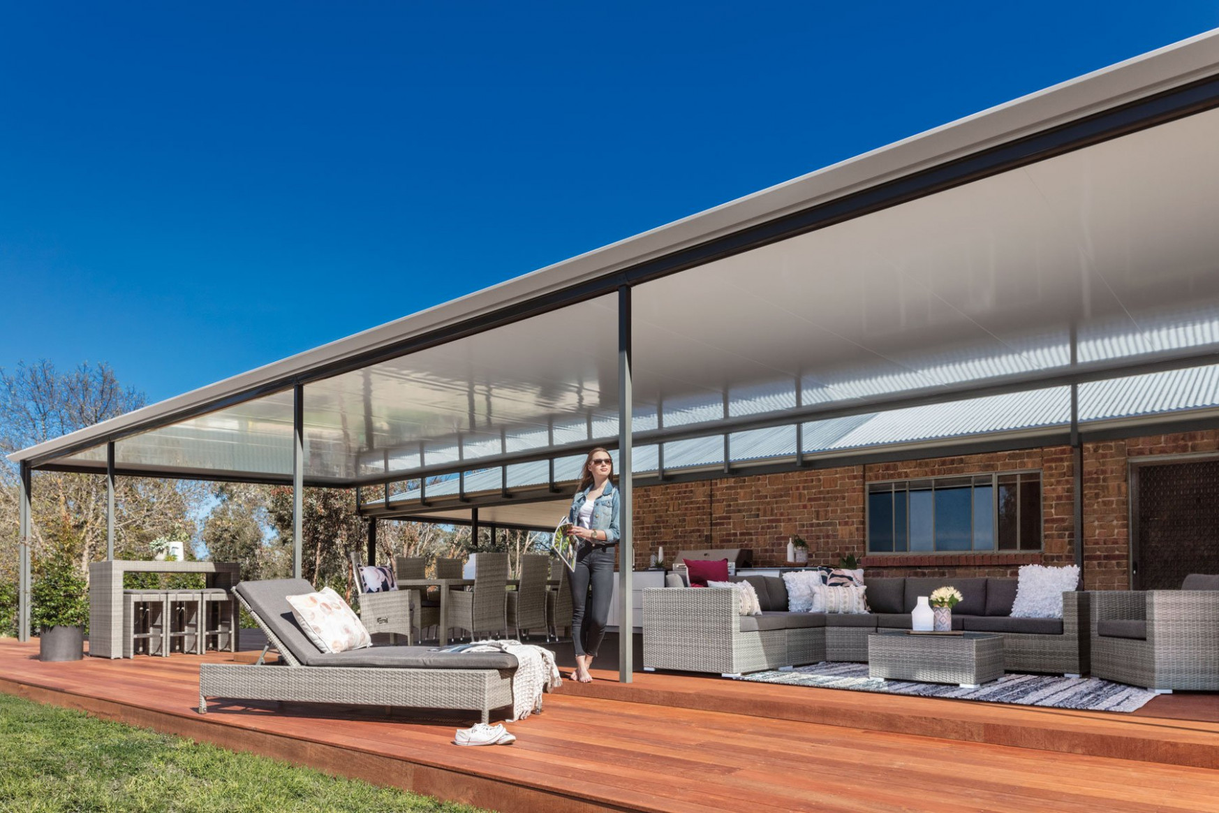 Outback® Flat | Stratco Carports Roof Design