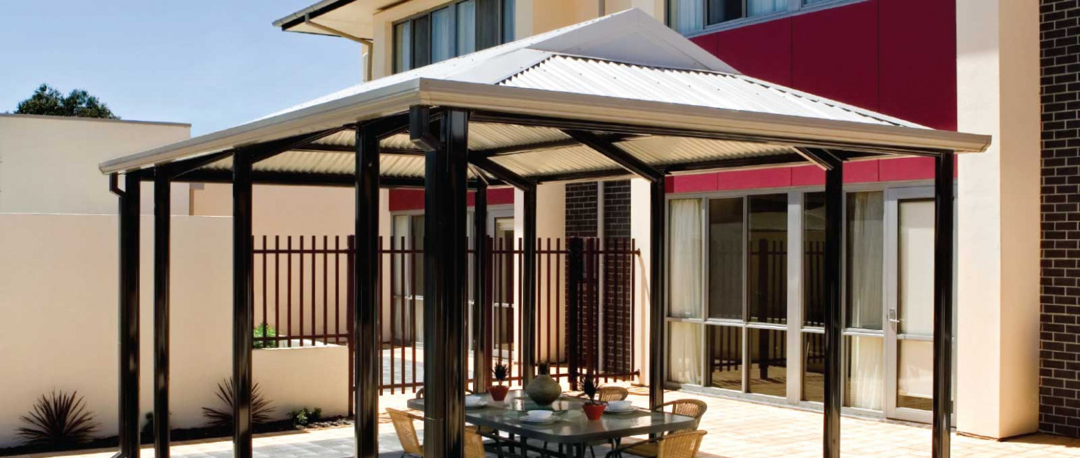 Outback® Heritage Gable   Stratco Carport Roof Pitch