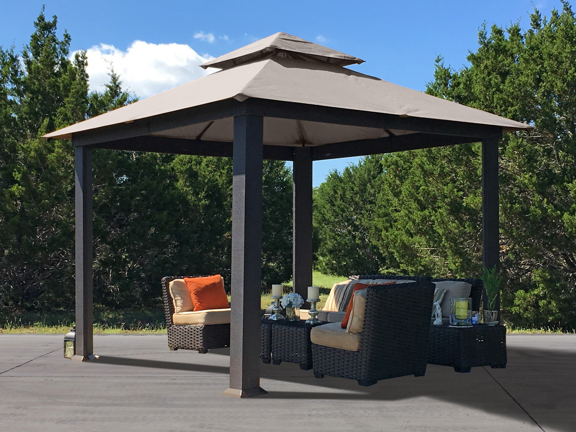 Outdoor Canopies Pop Up Canopy, Portable Shade, Carports ..