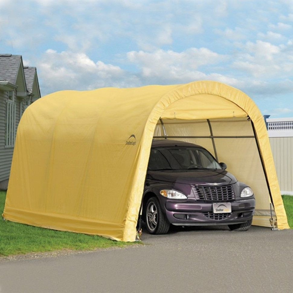 Outdoor Car Garage Storage Portable Canopy Shelter Carport ..