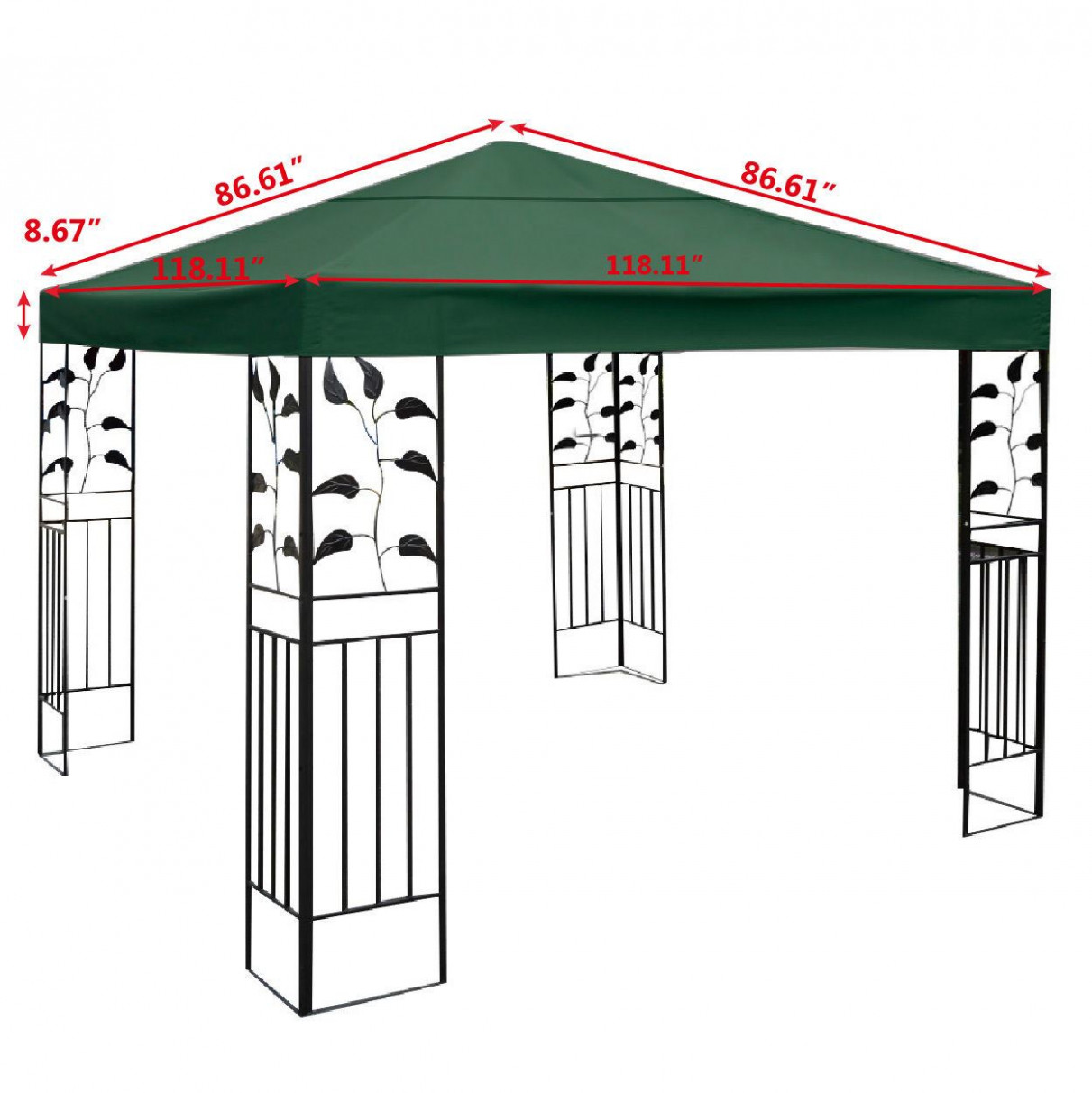 Outdoor: Choose Your Best Deal Gazebo Canopy Walmart For ..