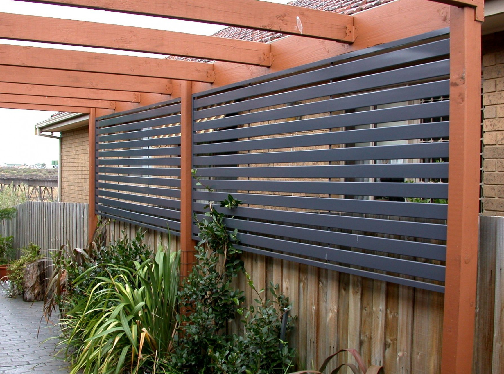 Outdoor Deck Privacy Ideas Use A Fence For More Or Patio ..