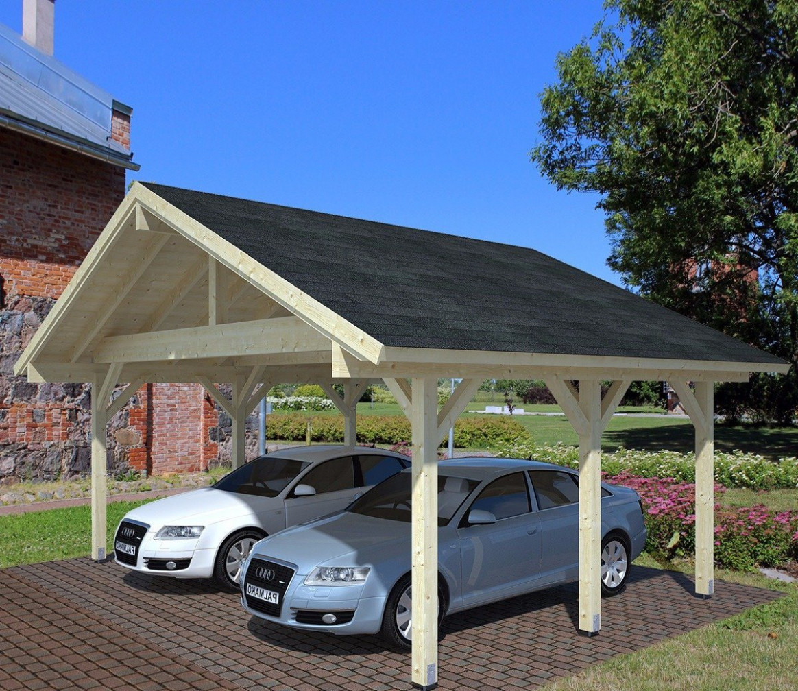 Palmako Robert 12 X 12 Ft Carport Carport Roof Felt