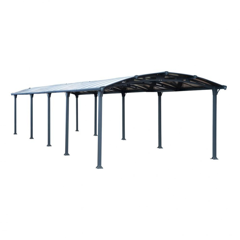 Palram Arcadia 11 11 ft. x 11 ft. Car Canopy and shelter Carport