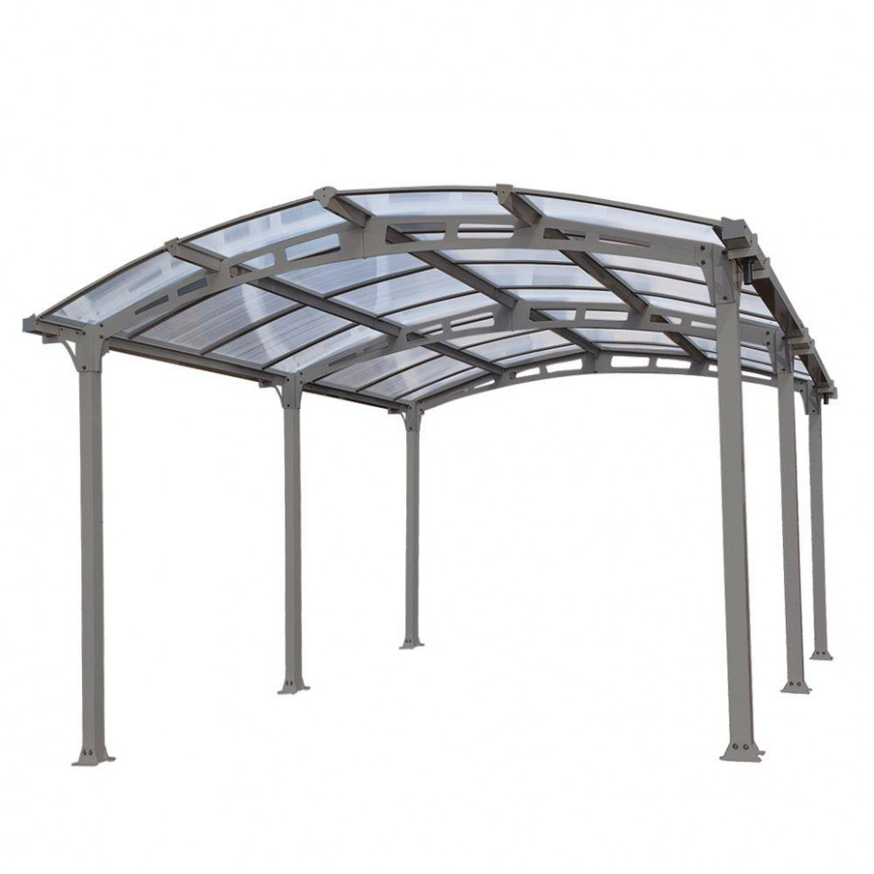 Palram Arcadia 5,000 12 Ft. X 16 Ft. Carport With ..