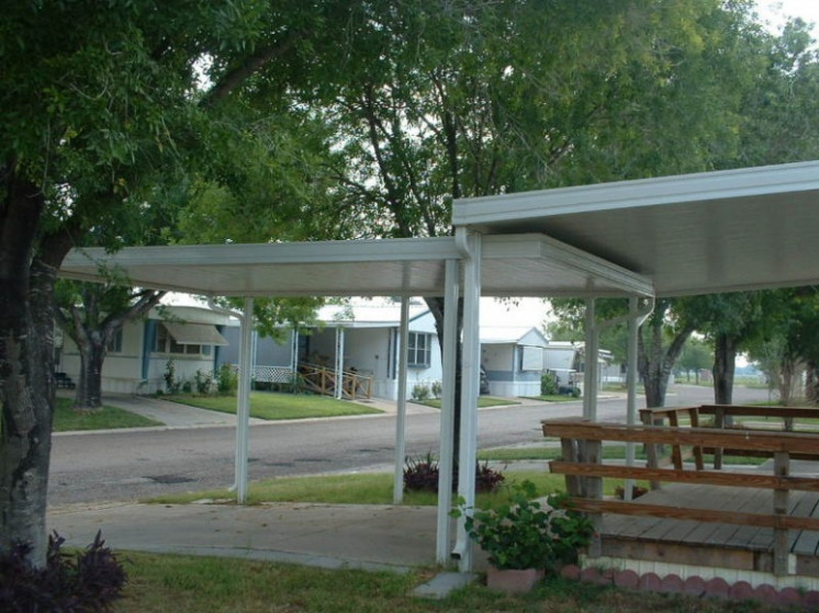 Pan Roof Carports Quiroz Custom Screening Carport Roof Pans