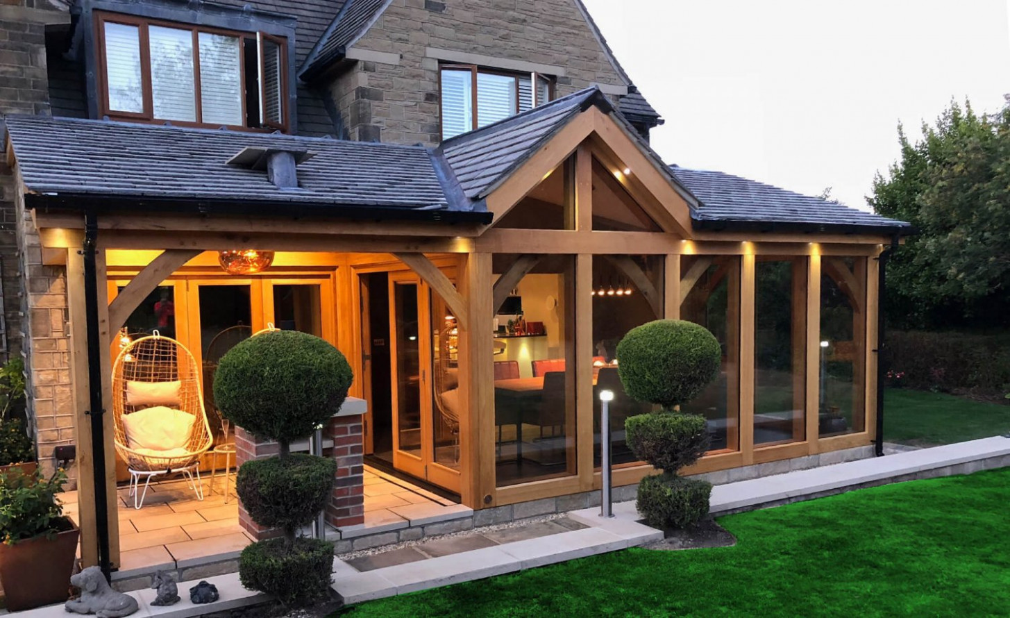 Paragon Oak | Oak Framed Buildings | Quality Oak Wooden Carport Wales