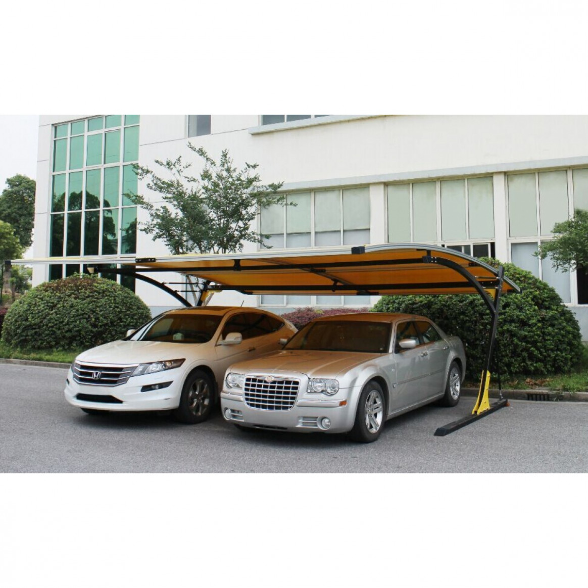 Park In Style Single/Double Arched Canopy Carport Canopy Style Carports
