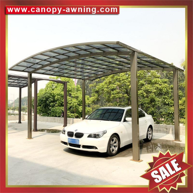 Parking Polycarbonate Pc Aluminum Aluminum Alloy Carport ..