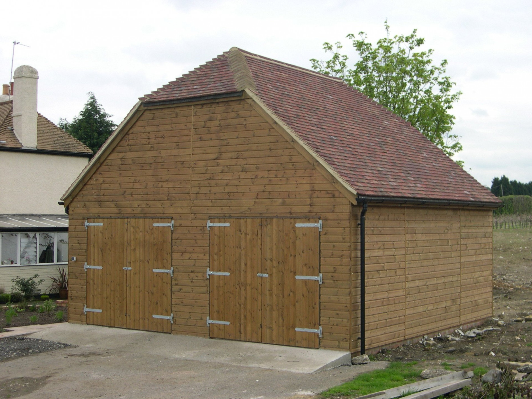 Passmores Timber Garages | Wooden Garages | Create Your Own Free Standing Wooden Carports Uk
