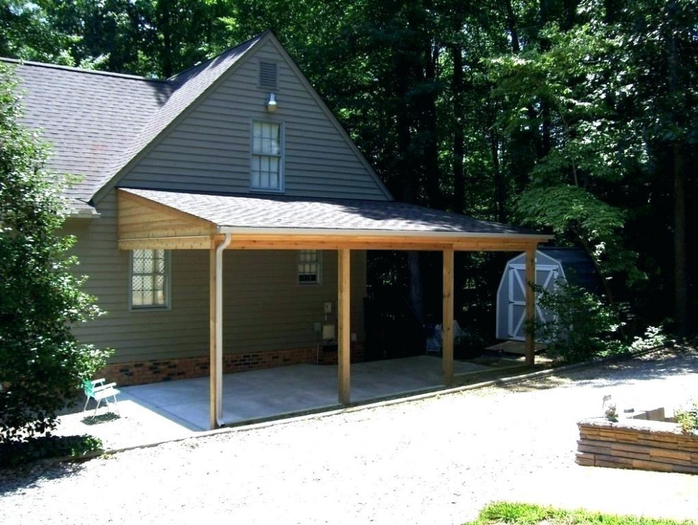 Patio Covered Flat Roof Lean Over Deck Ideas Plans Porch ..