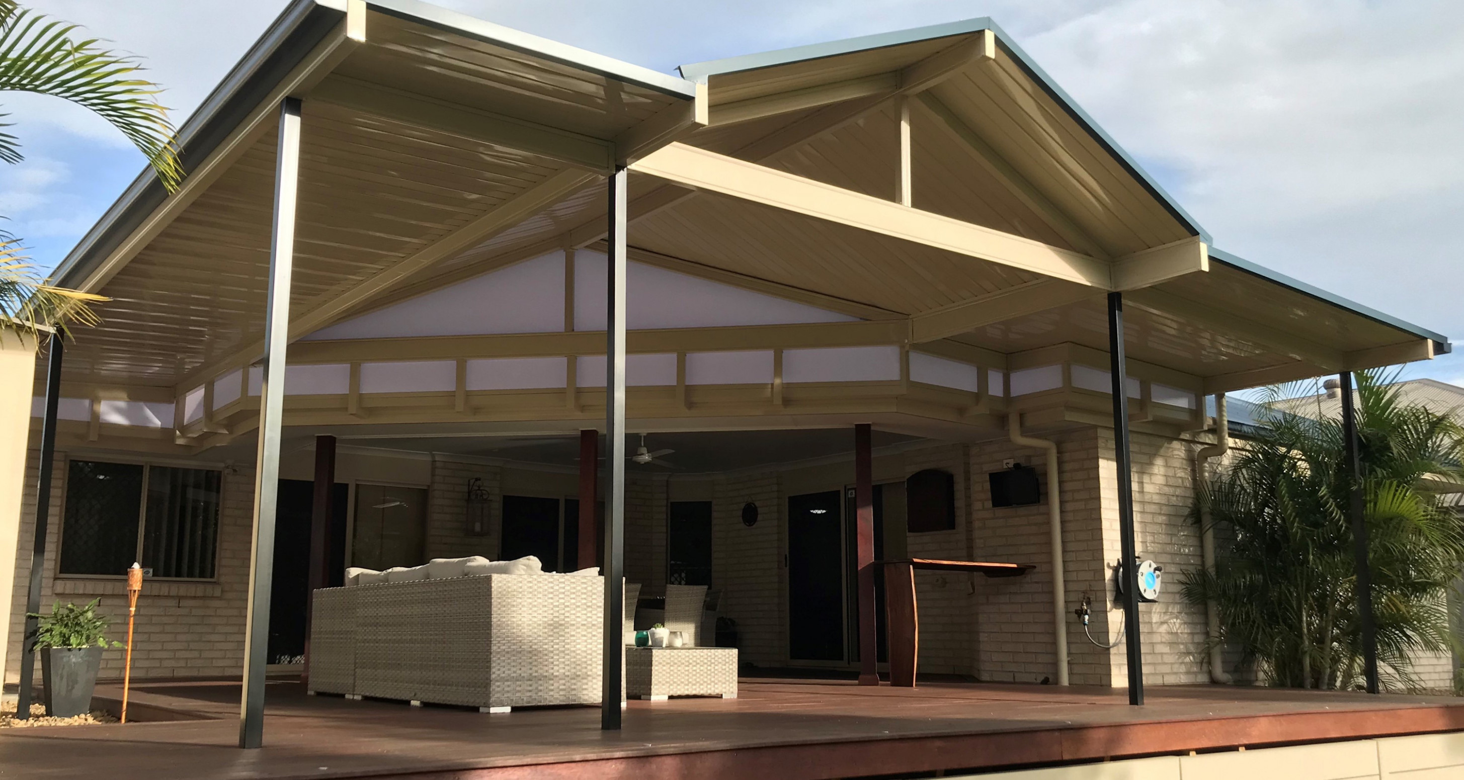 Patio Roofing In Brisbane & The Sunshine Coast | Just Patios Wooden Carport Brisbane