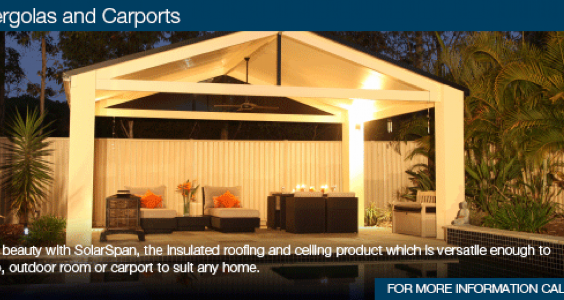 Patios & Carports | Bondor | Insulated Panels Australia Carports With Pitched Roofs