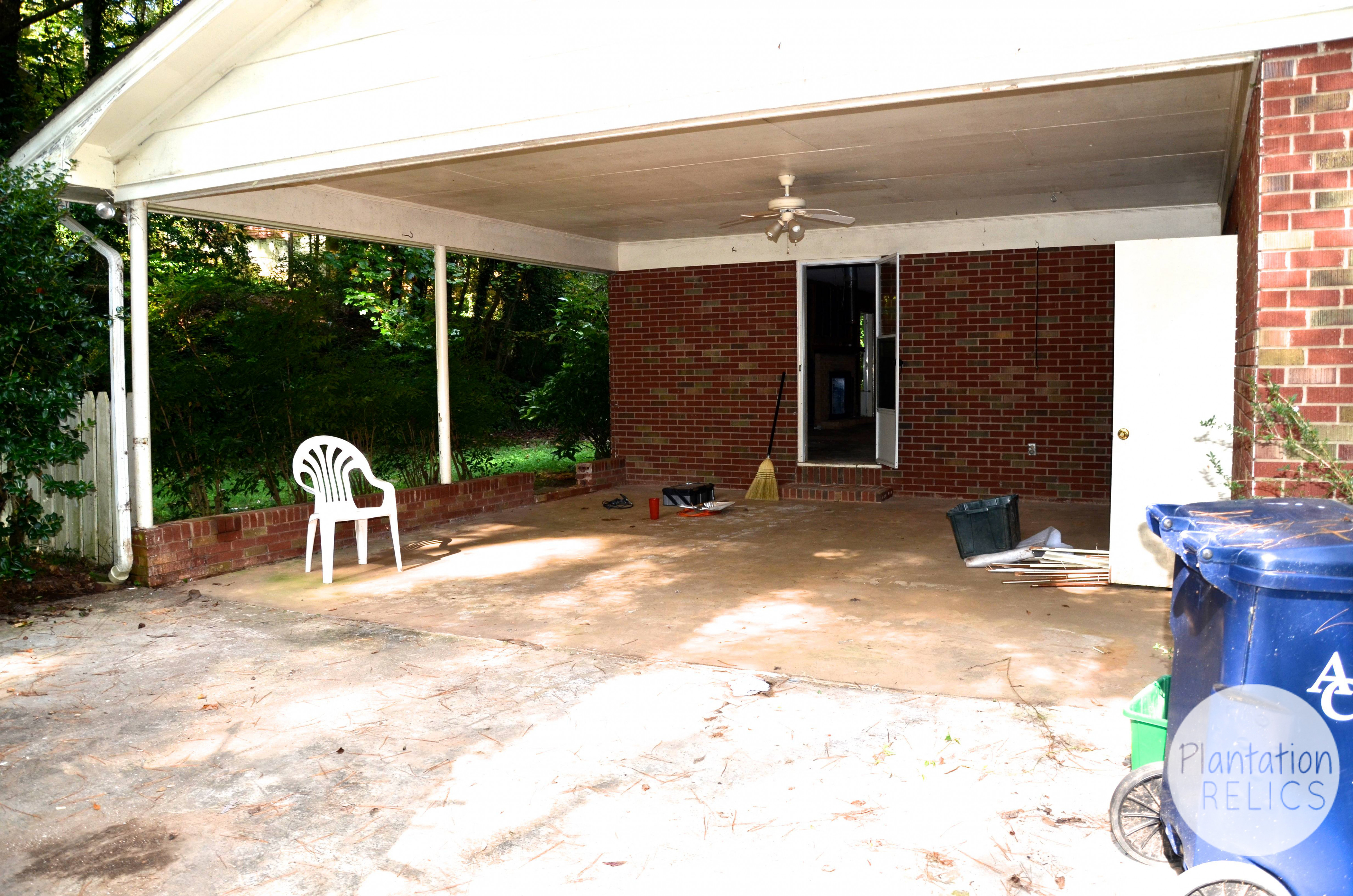 Perfect Closing In A Carport &OP12 – Roccommunity Carports Turned Into Garage