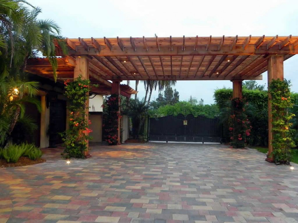 Pergola! NOT Driveway | Home Outside | Carport Garage ..
