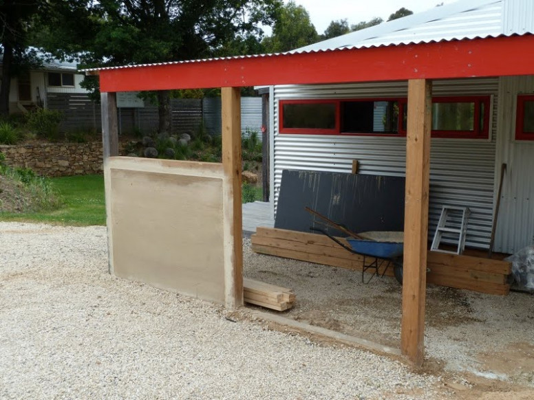 Permapoesis: Carless In The Country Carport Roof Depreciation