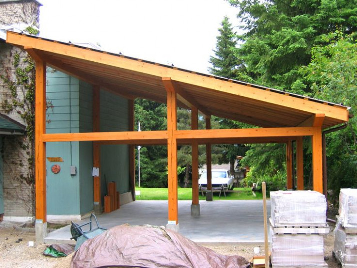 Pictures Of Small Post And Beam Structure | Post And Beam ..