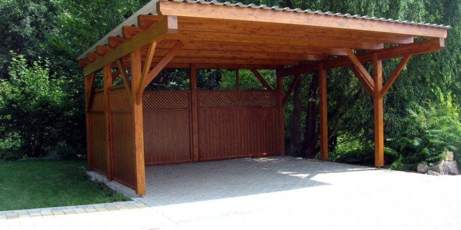 Pin By Fawzi On Carports | Wooden Carports, Carport Garage ..
