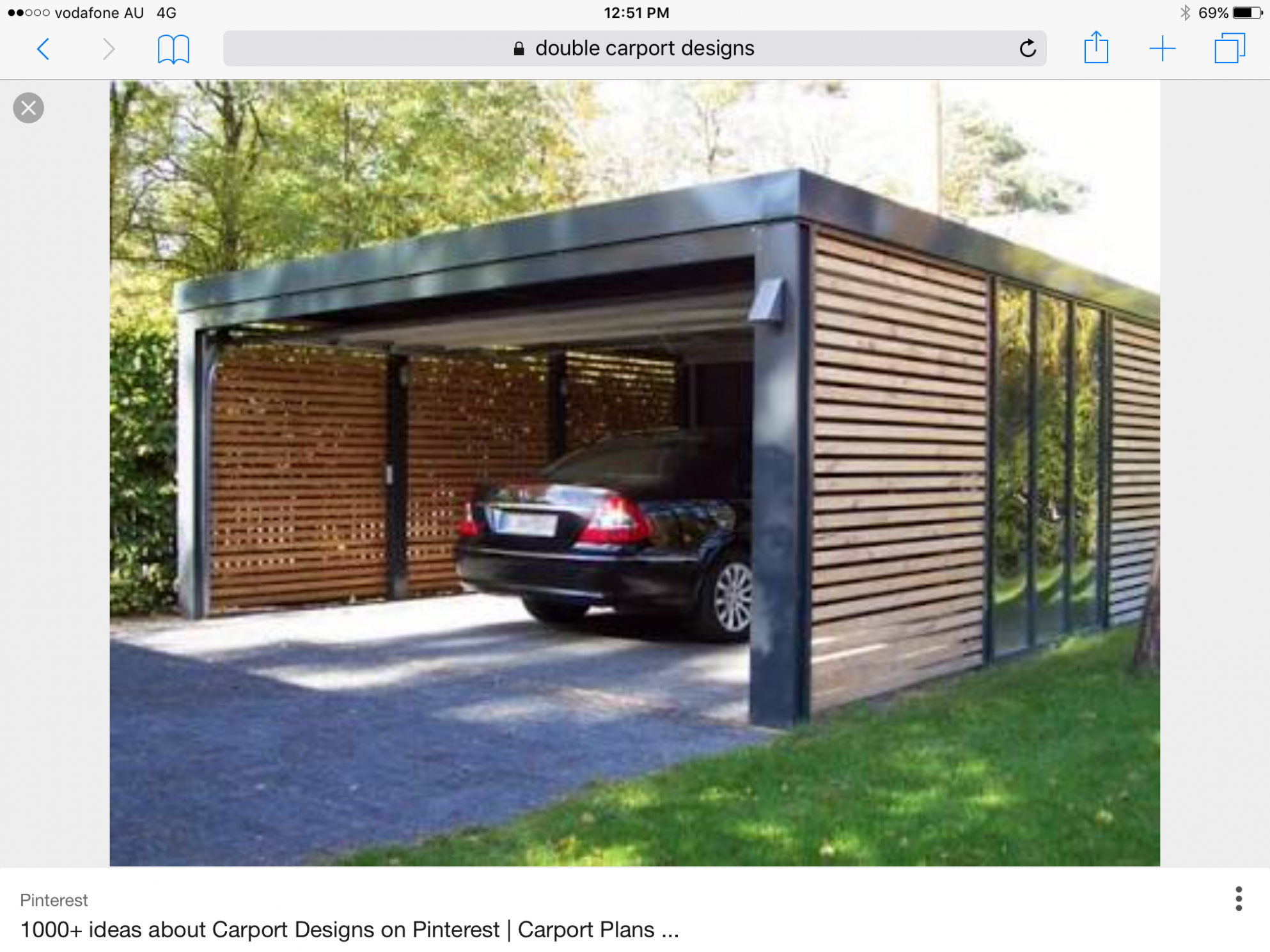 Pin By Michael Sato On House | Modern Carport, Carport ..