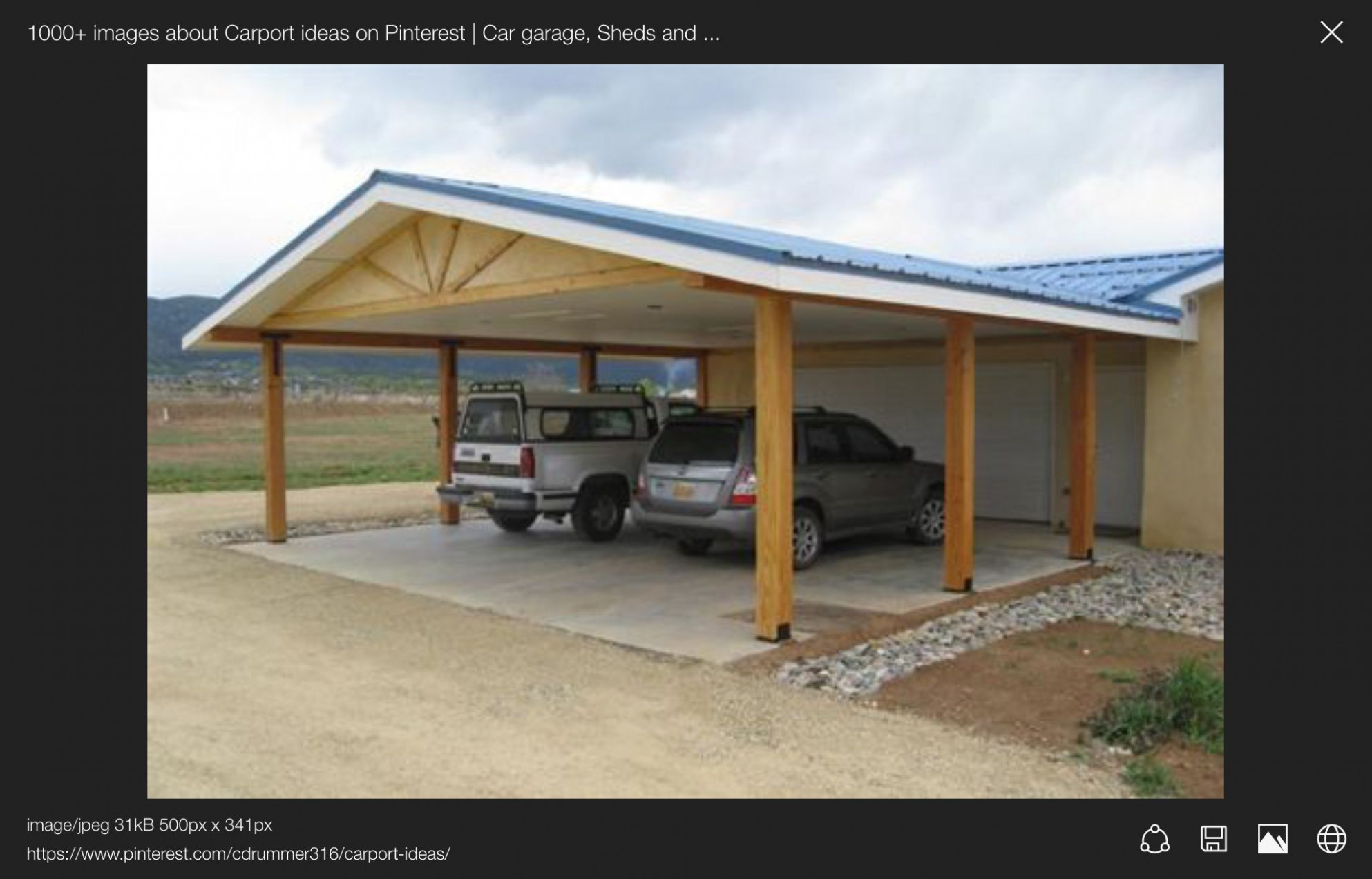 Pin By WenMay On Mobile Home | Carport Patio, Carport Garage ..