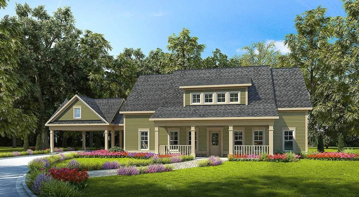 Plan 13DK: 13 Bed Farmhouse With Carport And A Garage ..