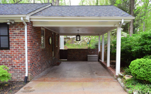 Planning And Prepping A Carport Pergola | Young House Love Building A Carport In Front Of Garage