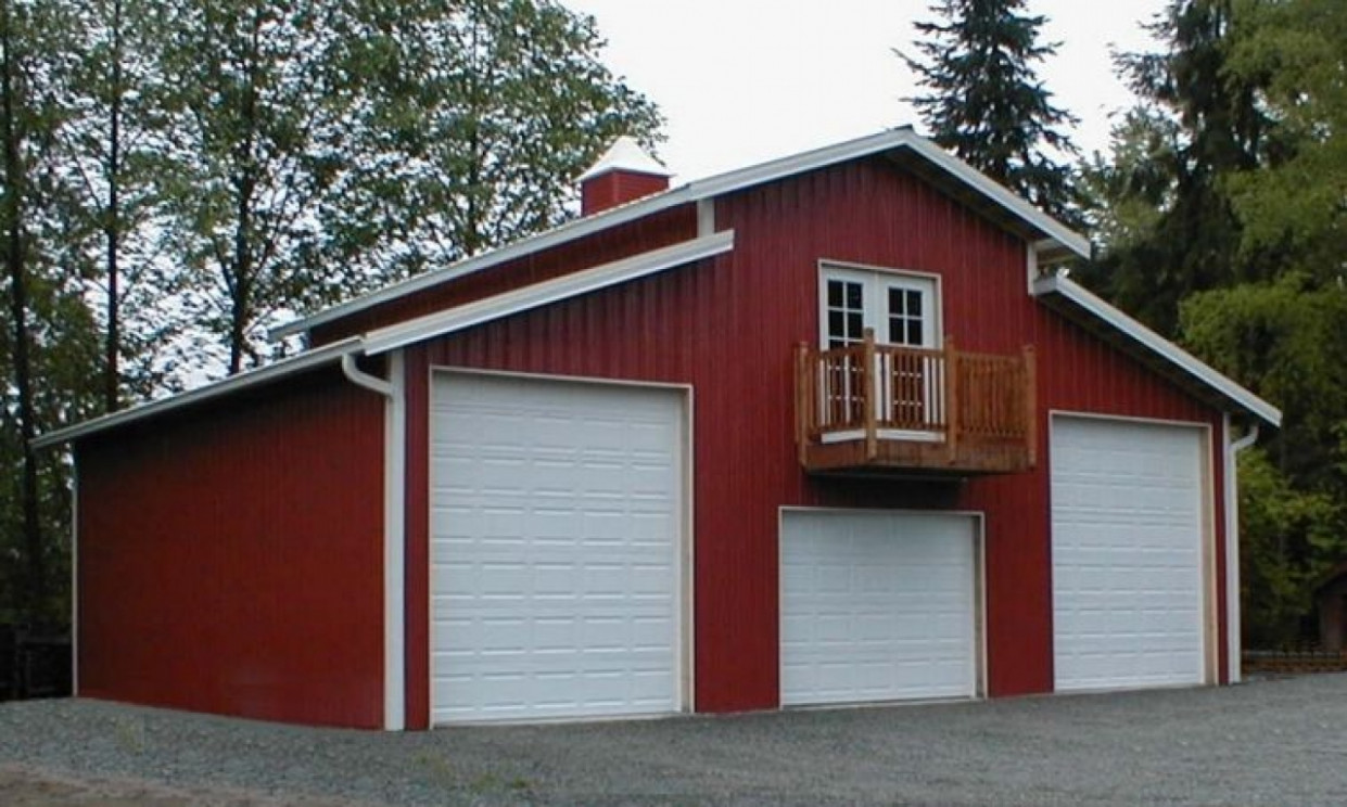 Pole barns apartments, barn style garage with apartment ...