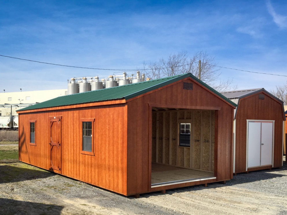 Portable And Prefab Garages And Carports In VA | Pine Glade ..