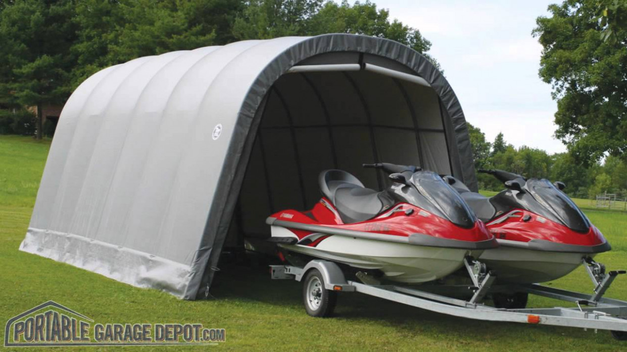 Portable Garage Depot: Instant Temporary Portable Garages ...