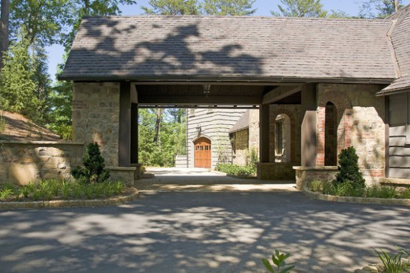Porte Cocheres Steer Driveway Style In The Right Direction Carport Driveway Ideas