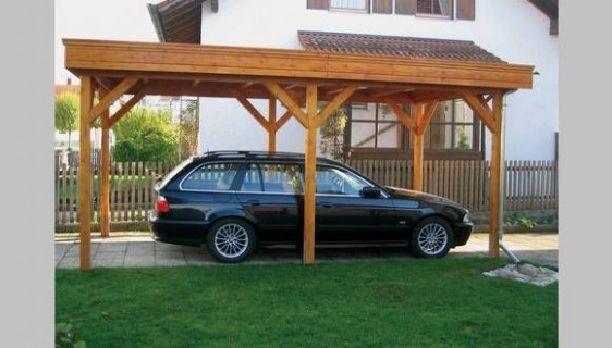 Post And Beam Carport | Home | Carport Garage, Carport ..