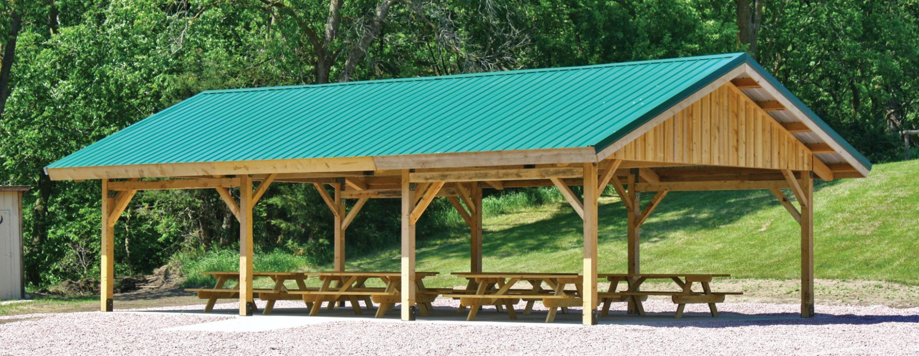 Post And Beam Carport Kit | RevolutionHR