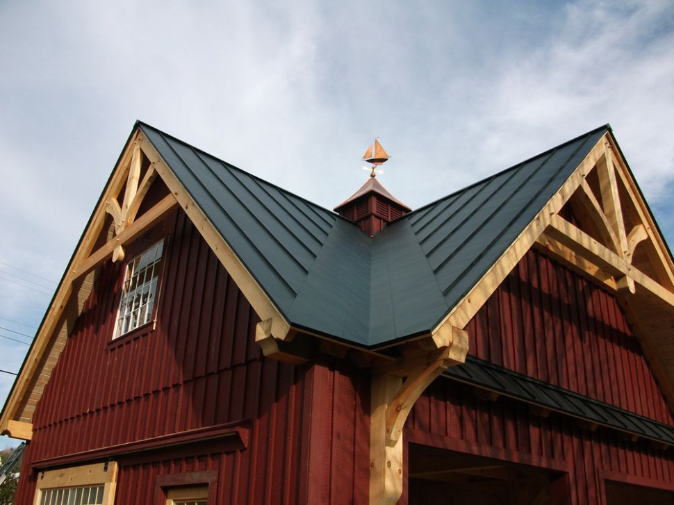 Post And Beam Garages | Carriage Sheds Post And Beam Garages Can You Put A Garage Door On A Carport
