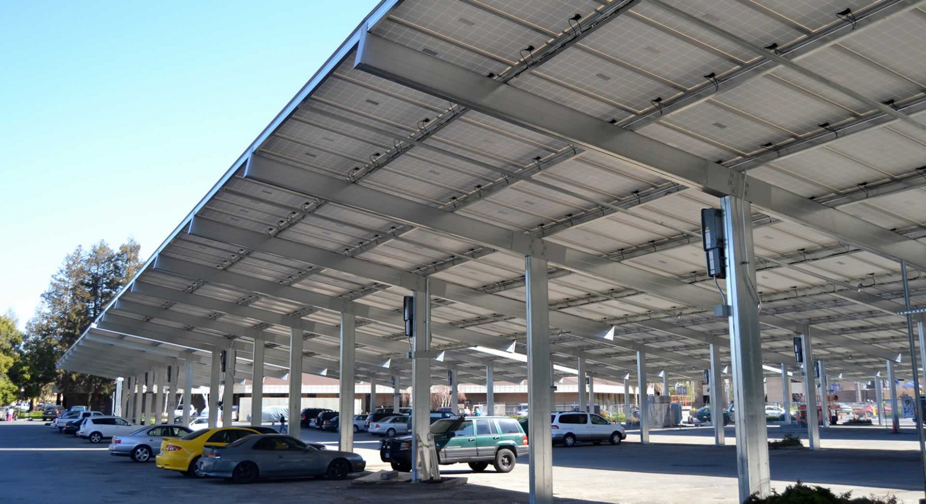 Powers Steel Covered Parking | Steel Building Components ..