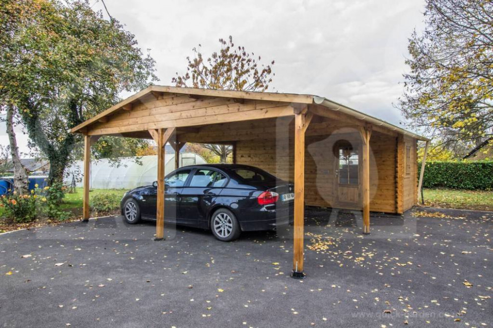 Prefab Wooden Garages For Sale | Pineca